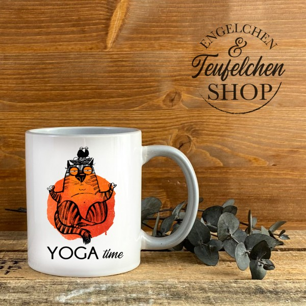 Tasse - Yogatime Orange